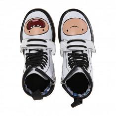 Dr. Martens Kid's Collection Adventure Time Finn D (Little Kid) | 100% originali, import SUA, 10 zile lucratoare - z12809 - Ghete copii Dr Martens, Baieti, Piele naturala