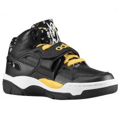 Adidas Originals Mutombo TR Block Grade School | 100% originali, import SUA, 10 zile lucratoare - e12709 - Ghete copii Adidas, Baieti, Piele naturala, Negru