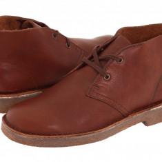Clarks Kids Desert Boot (Little Kid) | 100% originali, import SUA, 10 zile lucratoare - z12809 - Ghete copii Clarks, Baieti, Piele naturala, Maro
