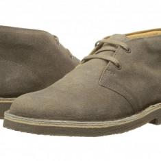 Clarks Kids Desert Boot (copii) | 100% originali, import SUA, 10 zile lucratoare - z12809 - Ghete copii Clarks, Baieti, Piele naturala, Gri