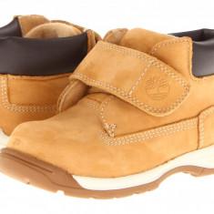 Timberland Kids Earthkeepers® Timber Tykes H&L Boot (Infant/Toddler) | 100% originali, import SUA, 10 zile lucratoare - z12809 - Ghete copii Timberland, Baieti, Piele naturala, Camel