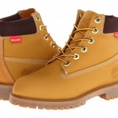 "Timberland Kids 6"" Premium Waterproof Scuff Proof II Boot (copii) | 100% originali, import SUA, 10 zile lucratoare - z12809 - Ghete copii Timberland, Baieti, Piele naturala, Camel"