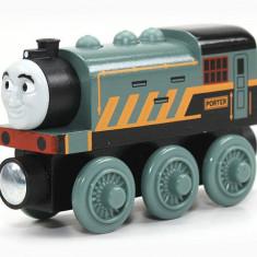 Locomotiva Porter, colectia Thomas si prietenii sai - Trenulet Fisher Price, Locomotive