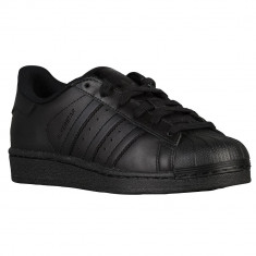Adidas Originals Superstar Preschool | 100% originali, import SUA, 10 zile lucratoare - e12709 - Adidasi copii, Baieti, Piele naturala, Negru