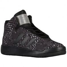 Adidas Originals Veritas Mid Grade School | 100% originali, import SUA, 10 zile lucratoare - e12709, Baieti, Negru