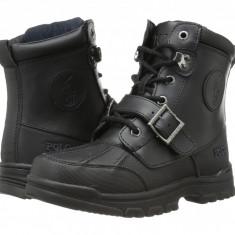 Polo Ralph Lauren Kids Colbey Boot FT14 (copii)   100% originali, import SUA, 10 zile lucratoare - z12809 - Ghete copii Polo By Ralph Lauren, Baieti, Piele naturala, Negru