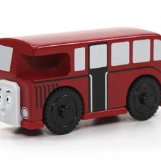 Autobuzul Bertie, colectia Thomas si prietenii sai - Trenulet Fisher Price, 2-4 ani, Lemn, Unisex