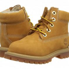 "Timberland Kids 6"" Premium w/ Faux Shearling (copii) | 100% originali, import SUA, 10 zile lucratoare - z12809 - Ghete copii Timberland, Baieti, Camel"