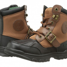 Polo Ralph Lauren Kids Colbey Boot FT14 (Little Kid)   100% originali, import SUA, 10 zile lucratoare - z12809 - Ghete copii Polo By Ralph Lauren, Baieti, Piele naturala, Maro
