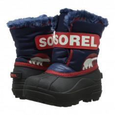 SOREL Kids Snow Commander™ (copii) | 100% originali, import SUA, 10 zile lucratoare - z12809 - Cizme copii Sorel, Baieti, Cauciuc, Bleumarin