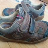 Adidasi din piele firma CLARKS marimea 26, arata impecabil! - Adidasi copii Clarks, Culoare: Maro, Unisex, Piele naturala