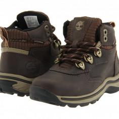 Timberland Kids White Ledge Lace Hiker (copii) | 100% originali, import SUA, 10 zile lucratoare - z12809 - Ghete copii Timberland, Baieti, Piele naturala