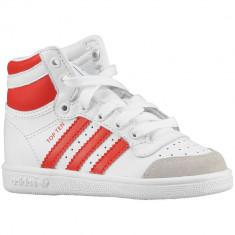 Adidas Originals Top Ten Toddler | 100% originali, import SUA, 10 zile lucratoare - e12709, Baieti, Alb, Piele naturala