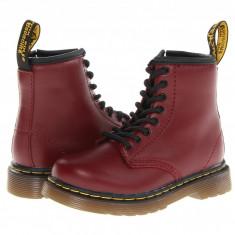 Dr. Martens Kid's Collection Brooklee 8-Eye Boot (copii) | 100% originali, import SUA, 10 zile lucratoare - z12809 - Ghete copii Dr Martens, Baieti, Piele naturala