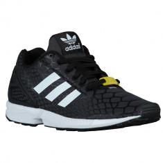 Adidas Originals ZX Flux Grade School | 100% originali, import SUA, 10 zile lucratoare - e12709 - Adidasi copii, Baieti, Negru