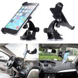 """Suport auto reglabil la 360 grade pentru Iphone 6 4, 7"""" si folie ecran"""