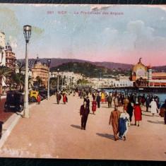 CARTE POSTALA ILUSTRATA FRANTA NISA NICE - La Promenade des Anglais **, Necirculata, Printata