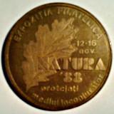 MEDALIE EXPOZITIA FILATELICA NATURA 88 AFR TIMIS FILATELIE
