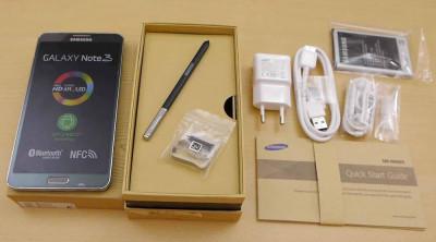 Samsung Galaxy Note 3  N9005 / NEGRE + FOLIE STICLA TEMPERED GLASS foto