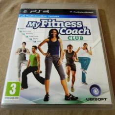 Joc Move My fitness Couch Club, PS3, original, 34.99 lei! - Jocuri PS3 Ubisoft, Sporturi, 12+, Single player