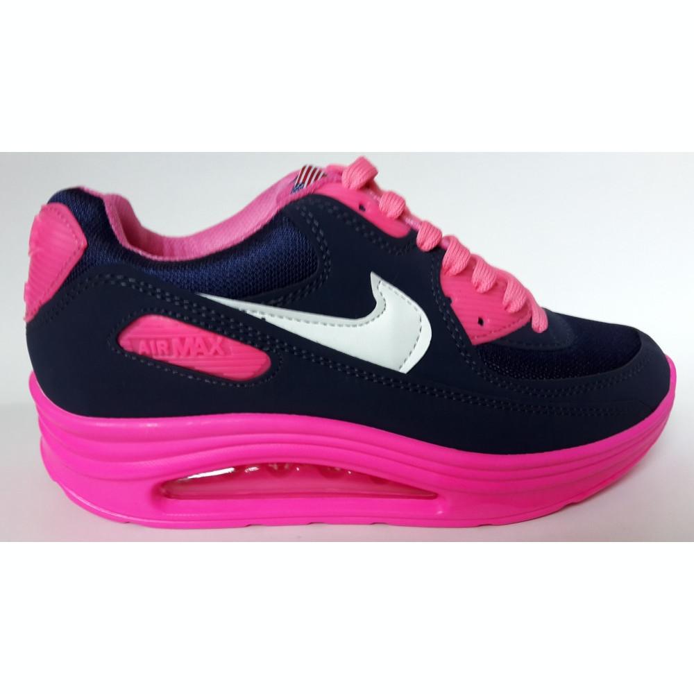 Adidasi Nike air max Ortoped.model 2015 negru alb roz