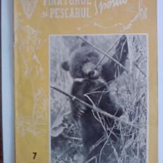 Revista Vanatorul si pescarul sportiv nr. 7/ 1958 / CRP1 - Revista barbati