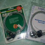 Cablu antifurt Laptopuri LogiLink NBS003 si Digitus DA-40501 Noi!