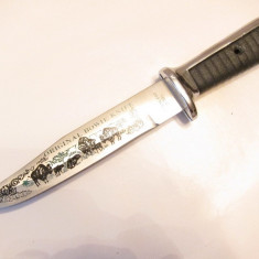 Cutit -original bowie knife -stainless steel - Briceag/Cutit vanatoare