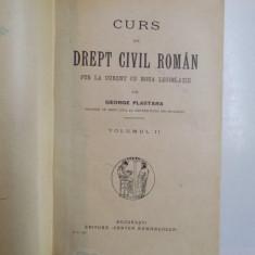 PLASTARA G CURS DE DREPT CIVIL ROMAN  1+2