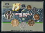 UCRAINA  SET MONETARIE 2013 , UNC  7 Monede PROOF  &  Medalie Comemorativa, Europa, Cupru-Nichel