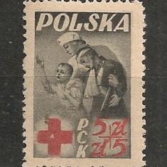 Polonia.1947 Crucea Rosie CC.172, Nestampilat