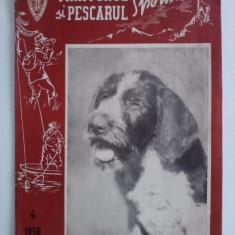 Revista Vanatorul si pescarul sportiv nr. 4 / 1958 / CRP1 - Revista barbati