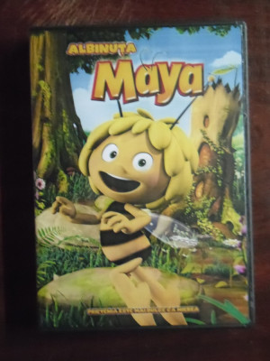 albinuta maya colectie 4 dvd uri desene animate dublate romana