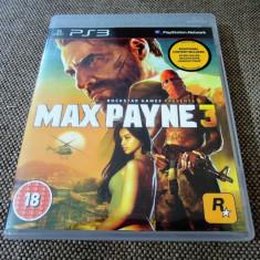 Joc Max Payne 3, PS3, original, alte sute de jocuri!