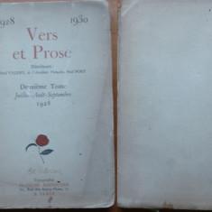 Paul Valery , Paul Fort , Versuri si Proza , 1929 , exemplar 207 / 1000 , ed. 1