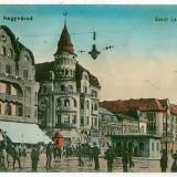 1675 - ORADEA, Market - old postcard, CENSOR - used - 1915