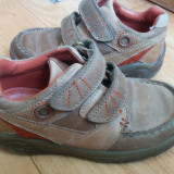 Adidasi din piele firma ELEFANTEN marimea 27, arata impecabil! - Adidasi copii, Culoare: Maro, Unisex, Piele naturala