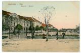 2137 - Hunedoara, ORASTIE, Military School - old postcard - unused, Necirculata, Printata