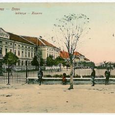 2137 - Hunedoara, ORASTIE, Military School - old postcard - unused - Carte Postala Transilvania 1904-1918, Necirculata, Printata