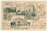 1790 - Litho, Salaj, SIMLEUL SILVANIEI - old postcard - used - 1903, Circulata, Printata