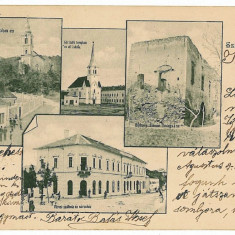 1790 - Litho, Salaj, SIMLEUL SILVANIEI - old postcard - used - 1903 - Carte Postala Crisana pana la 1904, Circulata, Printata