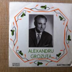 Alexandru grozuta lele de la orastie disc single 45 vinyl Muzica Populara electrecord vancu, VINIL