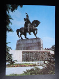 SEPT15-Vedere/Carte postala-Cluj-Napoca-Statuia lui Mihai Viteazul-necirculata, Printata