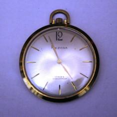 CEAS DE BUZUNAR MARCA PREZIOSA-17 RUBINE-EXTRAPLAT - Ceas de buzunar vechi
