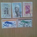 DAHOMEY (3018) - DIVERSE - timbre stampilate, Stampilat