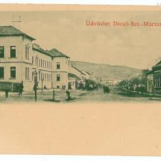 1119 - Mures, TARNAVENI, Market - old postcard - unused - 1901 - Carte Postala Transilvania pana la 1904, Necirculata, Printata