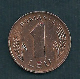 ROMANIA  1  LEU  1993  [3]  livrare in cartonas, Tombac