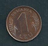 ROMANIA  1  LEU  1993  [2]  livrare in cartonas, Tombac