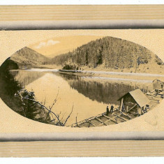 3129 - MARAMURES,  wooden bridge construction - old postcard - used - 1913, Circulata, Printata