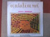 Cantati cu noi cantece pionieresti pionieri disc vinyl muzica corala lp anii 80, VINIL, electrecord